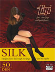 Opaque knee-highs