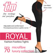Royal Fashion Footless Tights